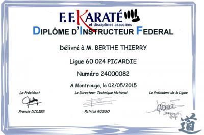 Diplome d instructeur federal
