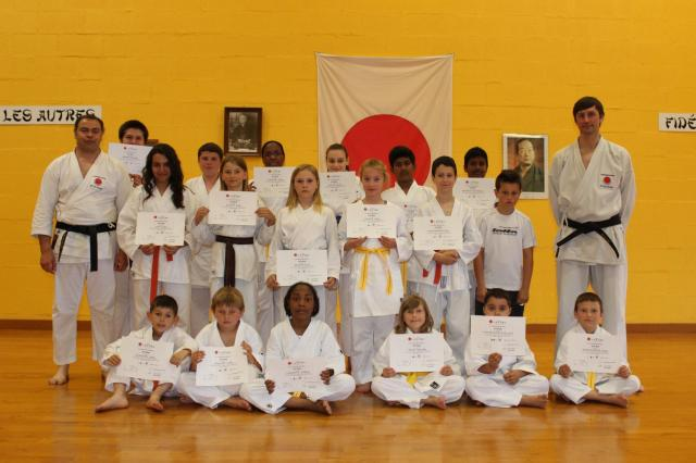 Karate club ceintures